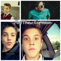 """Happy Matthew Day MagCon fans^_^ """"March 3 2015"""" Marcus Johns, Matt Espinosa, Nash Grier, O2l, Magcon Boys, Man Candy, Make Me Smile, Growing Up, Singers"""