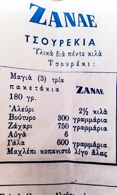 Greek Sweets, Greek Desserts, Greek Recipes, Bread Cake, Dessert Bread, Easter Recipes, Dessert Recipes, Food Network Recipes, Cooking Recipes