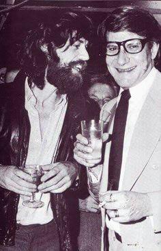 Mick Jagger & Yves St. Laurent