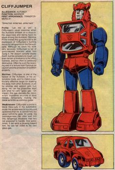 Cliffjumper: will definitely drive nose-first into a army of cons because fuck'em Transformers Cybertron, Transformers Optimus Prime, Classic Cartoon Characters, Classic Cartoons, Gi Joe, Thundercats, Transformers Generation 1, Hasbro Studios, Transformers Collection
