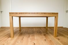 Dining table oak - barlang muhely Oak Dining Table, Decor, Furniture, Dining Bench, Table, Entryway Tables, Wooden Furniture, Oak, Home Decor