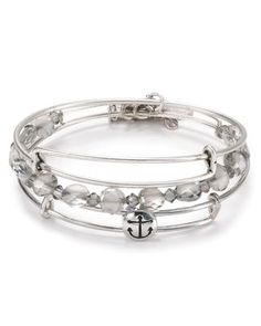Alex and Ani Exclusive Anchor Bracelets, Set of 3  Bloomingdale's
