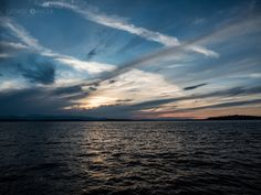 Sunset  over Puget Sound by George Oancea on 500px