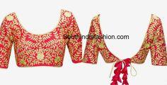 tie_back_knots_blouse_designs