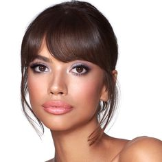 Grey Eyeshadow, Brown Eyeliner, No Eyeliner Makeup, Makeup Kit, Eyeshadow Palette, Pink Eyeliner, Makeup Ideas, Grey Makeup, Black Girl Makeup