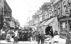East London History Society, a selection of images of East London Market Postcards of the early twentieth century. Victorian London, Vintage London, Old London, East End London, London Market, Tower Hamlets, The Great Fire, London History, London Pictures