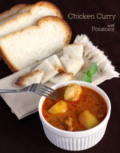 Authentic Recipe | Chicken Curry with Potatoes