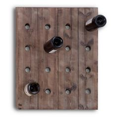 Find it at the Foundary - 22 in. Wood Wine Rack Dimensions: 21L x 4W x 25H inches