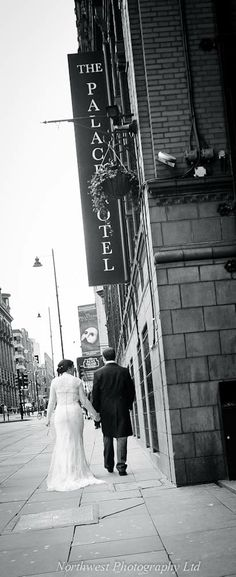 Wedding Photography at The Palace Hotel, Oxford Street, Manchester | Wedding Photographers in Cheshire and Manchester http://www.northwestphotography.co.uk