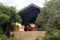 Woodbury Tented Camp on Amakhala Game Reserve. #Woodburytented #amakhala #familysafari