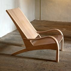 """Petter Southall makes very simple and very complex furniture often featuring steam bent elements. """" Petter Southall learned to work wo. My Furniture, Woodworking Furniture, Unique Furniture, Furniture Projects, Furniture Design, Outdoor Furniture, Woodworking Machinery, Chair Design Wooden, Wood Design"""