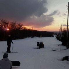 Too much fun. #bluemountain #ski #snowboarding