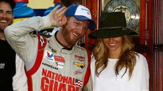 Dale Earnhardt Jr. @ Martinsville with Amy
