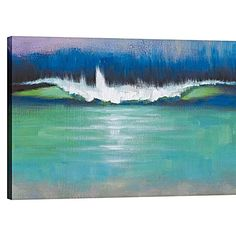 Bells Beach Panorama Painted Canvas Wall Art by United Artworks