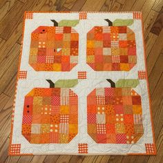 Just under the wire. I finished my Pumpkin table topper. #farmgirlfridays #pumpkin @beelori1 #orange