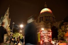 London's Burning St.Paul's orange3