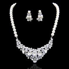 Wedding Vintage Inspired Tear Drop Oval by Voguejewelry4u on Etsy, $35.99