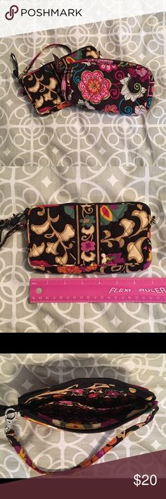 2 Vera Bradley Wristlets 2 Vera Bradley Wristlets  Retired Colors: 1- Suzani & 1- Mod Floral Pink 7 Inches Long with a Wrist Strap that can be Hooked on to the Zipper Large Inside Pocket w/ Small Sub-Pocket  (Together Total Value Over $70) Great Condition / Used Only a Few Times Each Vera Bradley Bags Clutches & Wristlets
