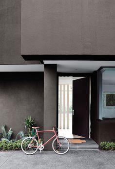 Dark Exterior House Color Ideas