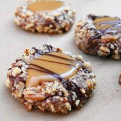 Cooking Pinterest: Turtle Cookies Recipe