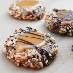 Cooking Pinterest: Turtle Cookies Recipe: I am most definitely making these! Probably this weekend..