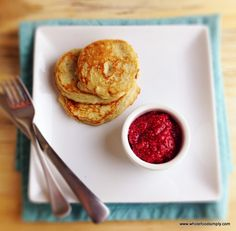 Simple two ingredients pancakes. Free from gluten, grains, dairy, nuts and refined sugar. Perfect for kids and great for both meals and snacks.
