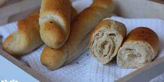 Biele špaldové rohlíky - Tinkine recepty Hot Dog Buns, Hot Dogs, Bagel, Side Dishes, Brunch, Bread, Cooking, Breakfast, Fit