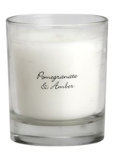 Pomegranate Glass Jar Candle in Gift Box