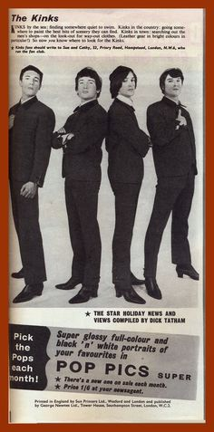 SIXTIES BEAT: The Kinks Dave Davies, You Really Got Me, The Kinks, Two Brothers, You Know Where, World Music, Classic Rock, The Man, Rock And Roll