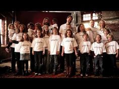 """THIRD DAY """"Children Of God"""" -   """"Great is the Love that the Father has given us, He has delivered us.  Children of God, sing your song & rejoice, for the love that He has given us all. Children of God, by the blood of His Son, we have been redeemed & we can be called children of God.  (adoption resources at THIRDDAY.com/adopted)"""