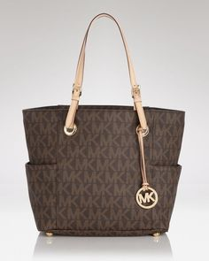 My latest acquisition - MICHAEL Michael Kors Tote - East West Logo | Bloomingdale's