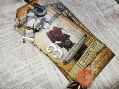 12 Tags of 2012 - June - from Tim Holtz