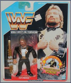 Ted, Wwf Toys, Wwf Hasbro, Collector Corps, Wwe Action Figures, Modern Toys, Cartoon Toys, Wrestling Superstars, Dollar