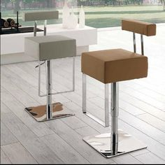Sgabello Stream Counter Height Chairs, Bar Chairs, Bar Stools, Sweet Home, Furniture, Space, Design, Home Decor, Collection