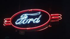 Beautiful Ford Neon Sign