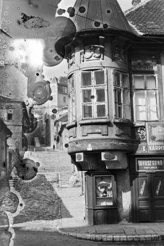 Fő utca - Pala utca sarok, Kapisztory-ház. Old Pictures, Old Photos, History Photos, Budapest Hungary, Old City, Vintage Photography, Historical Photos, Tao, The Past