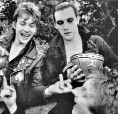 Rock Band Photos, Rock Bands, The Damned Band, Shock Treatment, Rock Band Posters, 70s Punk, Goth Guys, New Wave, Music Bands