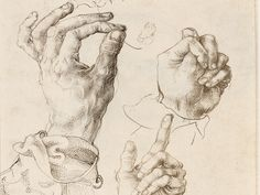 leonardo da vinci drawings study of hands Human Figure Drawing, Life Drawing, Painting & Drawing, Albrecht Durer, Body Sketches, Drawing Sketches, Hand Drawing Reference, Creation Art, Drawing Projects