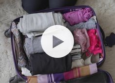 How to pack! Suitcase Packing Tips, Smart Packing, One Suitcase, Packing Tips For Vacation, Travel Packing, Vacation Trips, Travel Tips, Travel Hacks, Vacation Travel