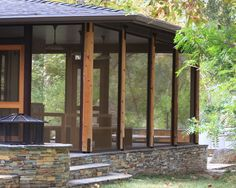 wonderful pictures of screened in decks contemporary screen porch with block brick flagstone at the