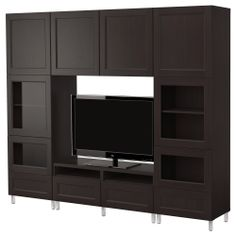 BESTÅ TV storage combination - IKEA . . . I would love to have all of this storage for books, movies, and collectables!