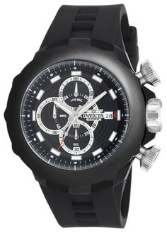 Invicta Force 16909 con funciones de cronometro, fecha y caja de acero inoxidable.