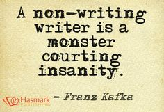 A non-writer is ... #HasmarkPublishing