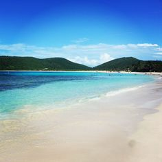 Culebra Island in Puerto Rico.  This is Flamenco Beach, number five of the world's best beaches!