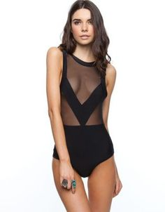 For HER: Maurie & Eve Skimmer Mesh Swimsuit