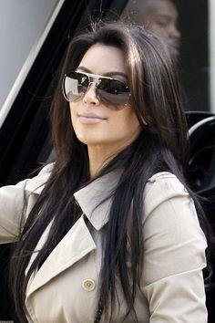 Kim Kardashian - love the hair cut and color