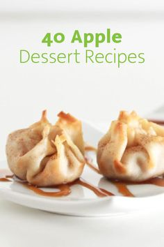 Check out these 40 fabulous apple dessert recipes, filled with creative ways to utilize the fresh fall harvest. This post has everything from cookies and muffins to cheesecake and energy balls—pin for later!