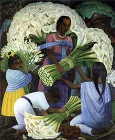 1949, Diego Rivera...I have this painting hanging in my father's house :)