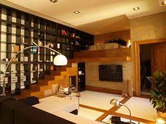 Creative Loft Bedroom decorating Ideas wood
