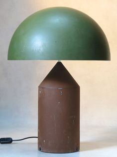 Rare Two-Tone Atollo Lamp by Vico Magistretti for O Luce at 1stdibs